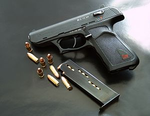 Heckler & Koch P9 - HK P9S with magazine