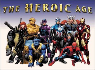 Heroic Age (comics) - Promotional image for The Heroic Age. Art by Jim Cheung.