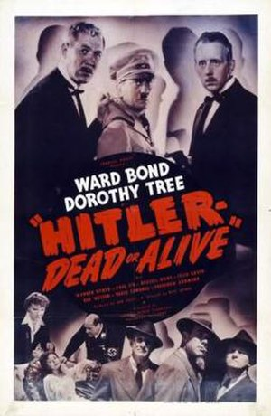 Hitler – Dead or Alive - Theatrical release poster