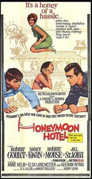 Honeymoon Hotel (1964 film) - Image: Honeymoon Hotel 64