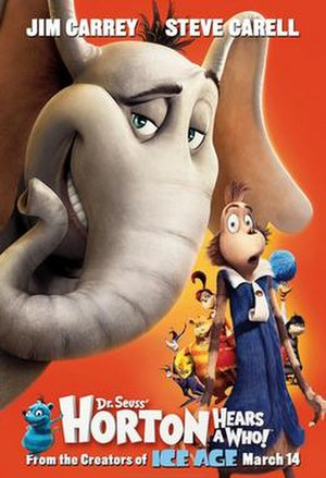 Horton Hears a Who! (film) - Theatrical release poster