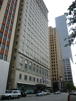 Magnolia Hotel (Houston) - Image: Houston Magnolia Hotel