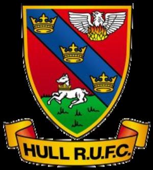 Hull RUFC - Image: Hull rufc logo