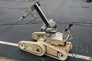IRobot Warrior - The iRobot 710 Warrior shown with manipulator arm