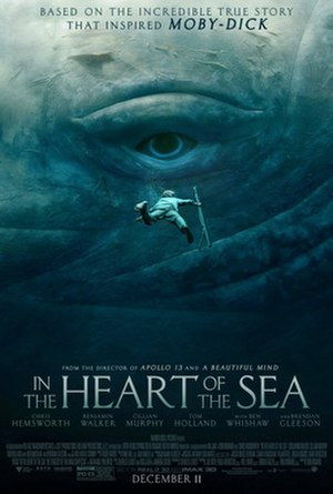 In the Heart of the Sea (film) - Theatrical release poster