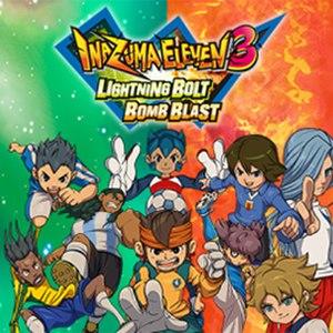 Inazuma Eleven 3 - Art for the Lightning Bolt/Bomb Blast versions