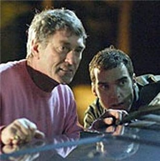 """Johnny Allen (EastEnders) - Johnny and Danny plan their revenge on the Mitchells in """"Get Johnny Week""""."""