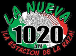 KMMQ - Image: KMMQ La Nueva 1020 logo