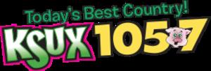 KSUX - Image: KSUX KSUX105.7 logo