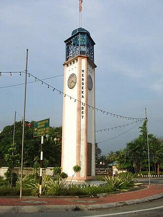Kampar, Perak - Kampar Independence Clock Tower