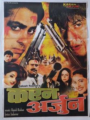 Karan Arjun - Release poster