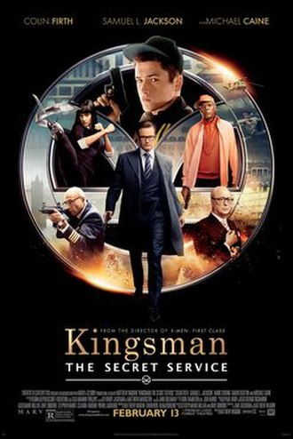 Kingsman: The Secret Service - Theatrical release poster