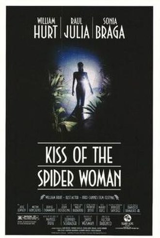 Kiss of the Spider Woman (film) - Theatrical release poster