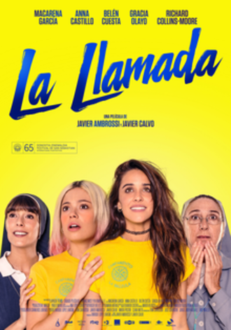 Holy Camp! - Spanish theatrical release poster