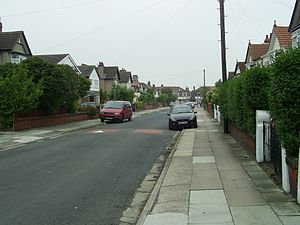 Hunt's Cross - A typical local suburban street
