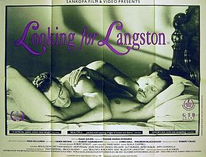 Looking for Langston - UK theatrical release poster