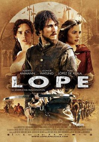 Lope (film) - Image: Lope (2010 movie poster)