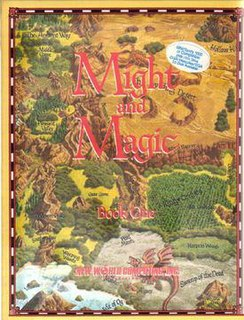 <i>Might and Magic Book One: The Secret of the Inner Sanctum</i> video game