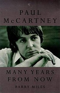 <i>Paul McCartney: Many Years from Now</i> book by Barry Miles