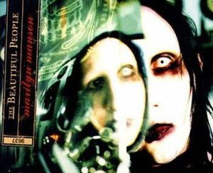 The Beautiful People (song) - Image: Marilyn Manson Beautiful People Alt