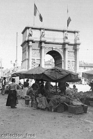 Porte d'Aix - Porte d'Aix in 1901
