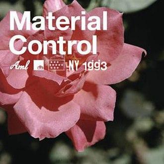 Material Control - Image: Material Control Cover Art
