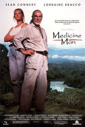 Medicine Man (film) - Theatrical release poster