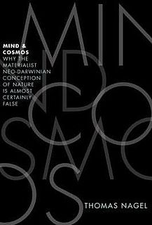 <i>Mind and Cosmos</i> book by Thomas Nagel