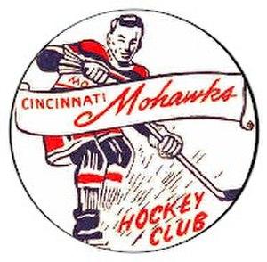 Cincinnati Mohawks - Image: Mohawks Logo 2