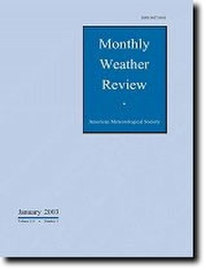 Monthly Weather Review - Image: Monthly Weather Review cover