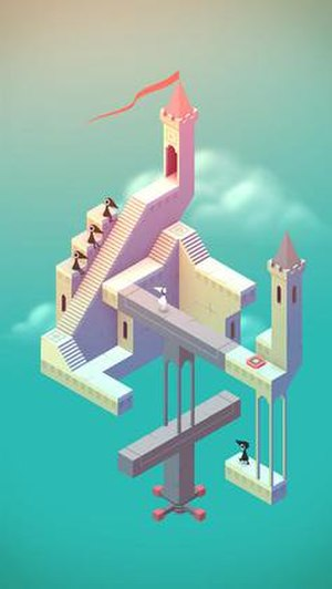 Monument Valley (video game) - Image: Monument Valley screenshot