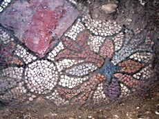 Fragment of the mosaic