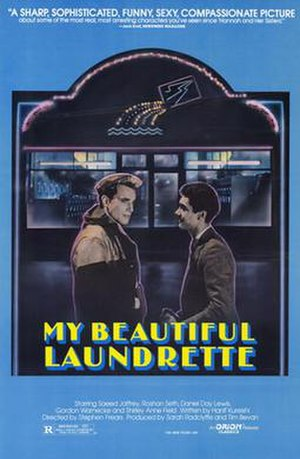 My Beautiful Laundrette - Theatrical release poster