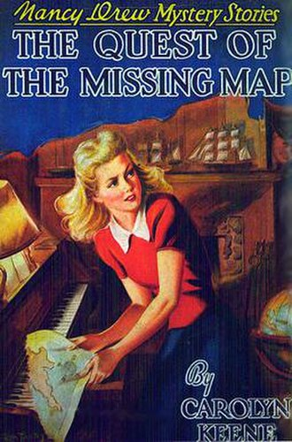 The Quest of the Missing Map - Original edition cover