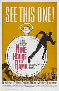 <i>Nine Hours to Rama</i> 1963 British film