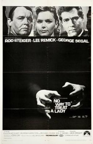 No Way to Treat a Lady (film) - Film poster