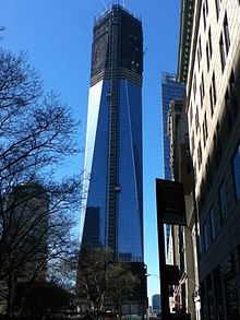 One World Trade Center Construction As Of April 3, 2012, Three Months  Before Topping Off