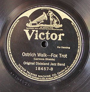 Ostrich Walk - 1918 Victor release as 18457-B.