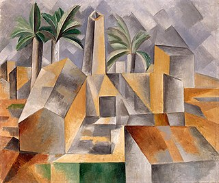 transition phase in art history toward Cubism