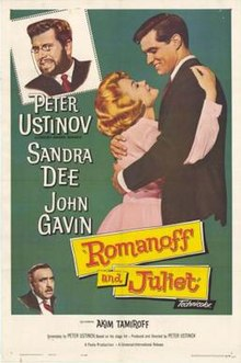 Poster of the movie Romanoff and Juliet.jpg