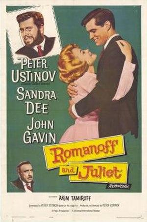 Romanoff and Juliet (film) - Film poster
