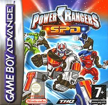 Power rangers spd video game wikipedia power rangers spd video gameg voltagebd Choice Image