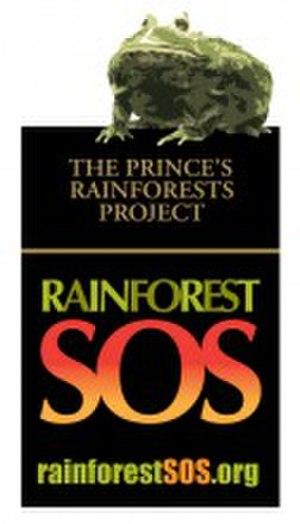 Prince's Rainforests Project - Image: Princes Rainforest Trust SOS logo