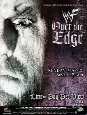 Over the Edge (1999) - Promotional poster featuring The Undertaker
