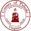 Official seal of Pulaski County