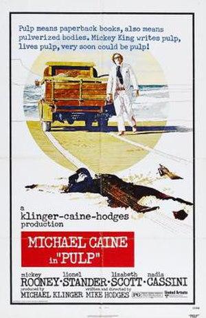 Pulp (1972 film) - original film poster