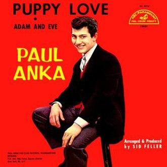 Puppy Love (Paul Anka song) - Image: Puppy Love Paul Anka
