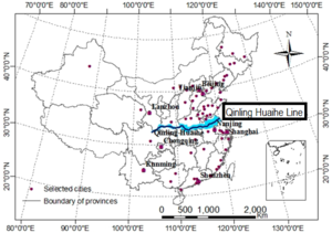 South China - The Qinling Huaihe Line separates China into its Northern and Southern regions