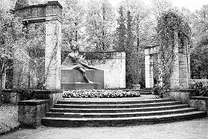 Rainis - Rainis' gravesite memorial, Rainis Cemetery