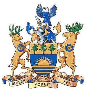 Region of Queens Municipality - Image: Region of queens municipality coat of arms